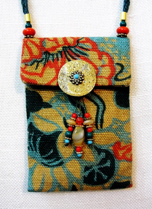 Fiber Art Purse by Mary Kenesson (click to enlarge)