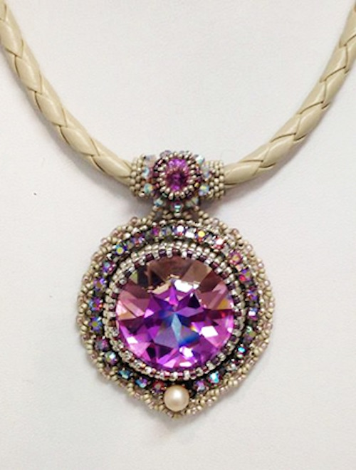 Crystal Necklace by Robin Wilkinson (click to enlarge)