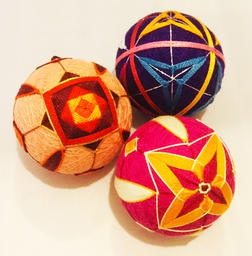 Temari Balls by Trish Harris (click to enlarge)